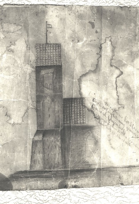 toren1815tek.generaal Krayenhoff,schadetoren0018630018630001