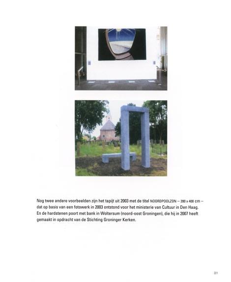 Vliegtuigraampje en Poort en bank: voorbeelden van begrenzing en ruimte Poort en bank