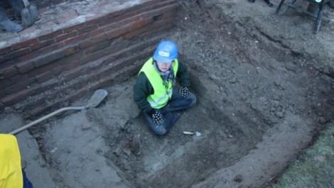Archeologische onderzoek februari 2014