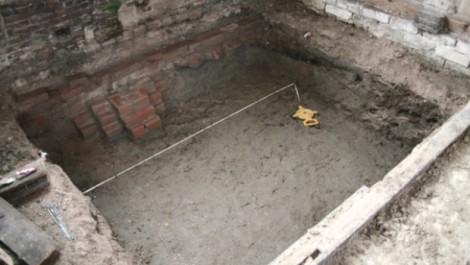 Structuur kloostermoppen zichtbaar