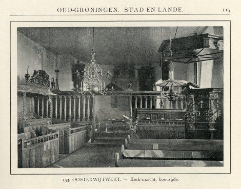 Baluster zonder schildering in 1921.