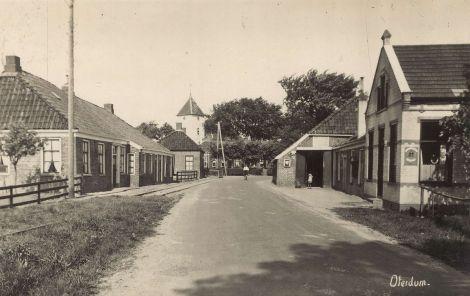 Hoofdstraat omstreeks 1909