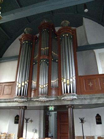Orgel in Heinenoord