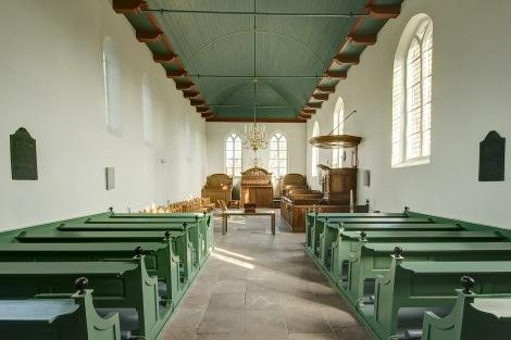 OLDEHOVE / 27-2-2013 / De Liudgerkerk is overgegaan naar de stichting Oude Groninger Kerken, Interieur / Foto: Omke Oudeman