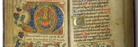Pagina uit het passiegebedenboek van de zusters van Thesinge. - Collectie: Universiteitsmuseum Groningen