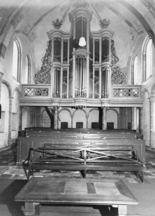 Orgel in 1965 / Beeldbank Liturgisch Centrum RUG