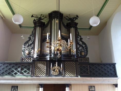 orgelgalerij. foto: Henk Heerema