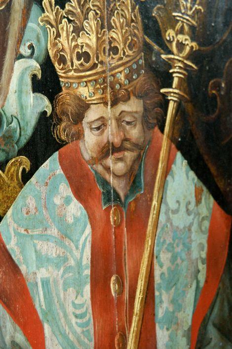 koning/wijze met snor. Foto: Jaap