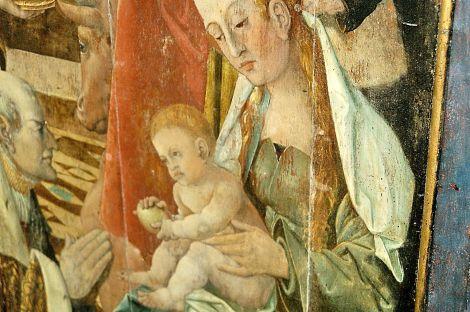 Maria met Jezus. foto: Jaap den Hertog