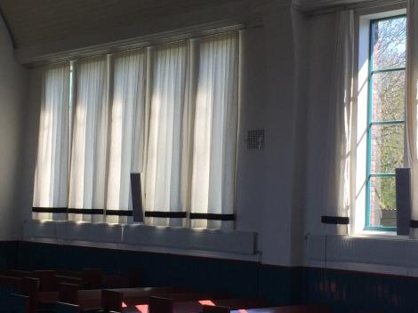 en nieuwe raamgordijnen