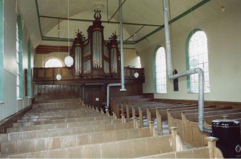 Orgel in de kerk van Garsthuizen