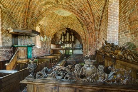 Interieur Catharinakerk / foto: Omke Oudeman