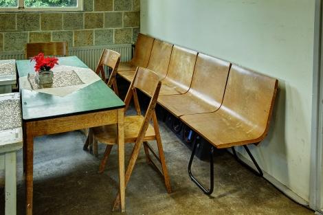 Restanten van het originele meubilair / Foto: Omke Oudeman